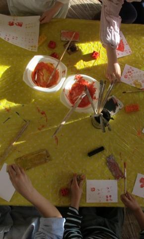 Kunstvermittlung für Schulklassen 1-8, Kindergarten und Hort