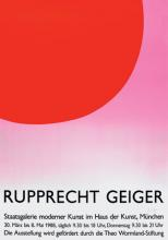 Rupprecht Geiger, Staatsgalerie Moderner Kunst im Haus der Kunst, München (30.3.–8.5.1988)