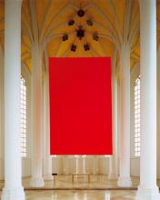 Rauminstallation Morgen Rot Abend Rot